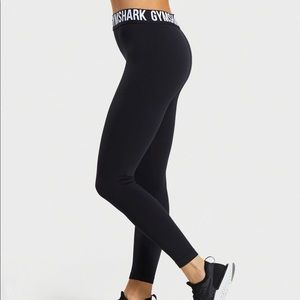 GymShark: Black Tights (Size Small)